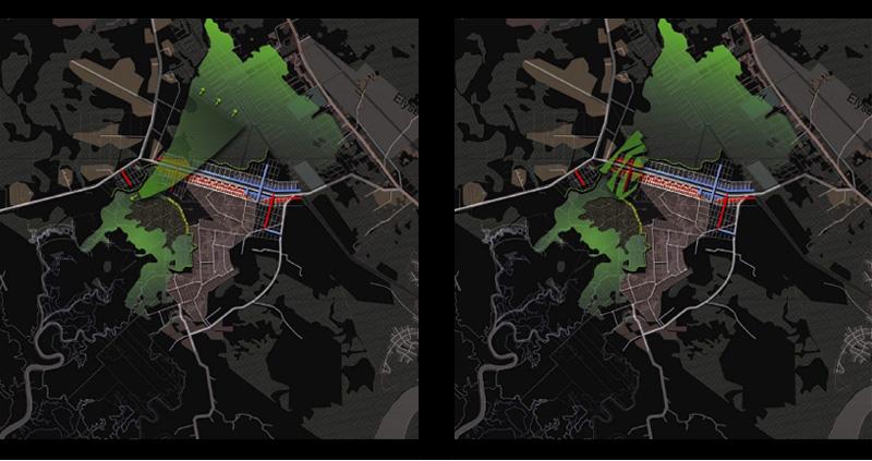 DU_Etude urbaine a Montsinery La Carapa_déclencheurs plan