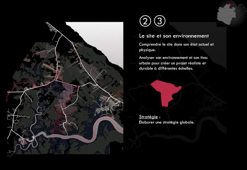 DU_Etude urbaine a Montsinery La Carapa_méthode de travail diagnostic du site et environnement