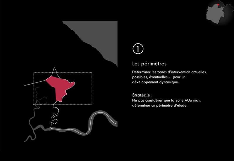 DU_Etude urbaine a Montsinery La Carapa_méthode de travail les périmètres