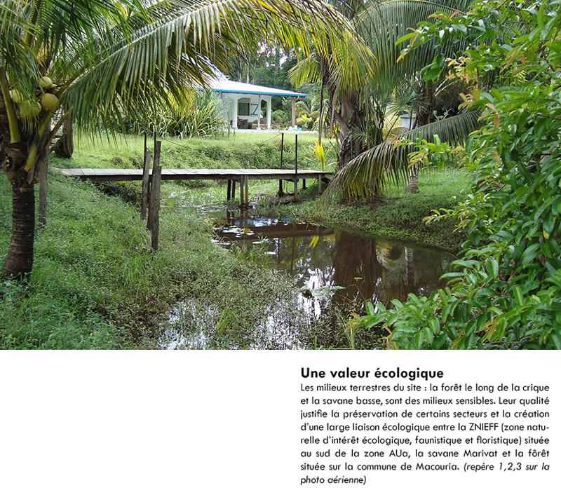 DU_Savane Marivat Champs Virgile La Carapa Etude urbaine a Montsinery en Guyane_un site de qualité