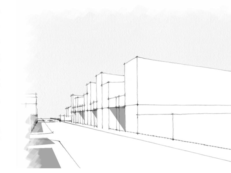 DU_Aulnay-sous-bois ancien centre des impots_variante nappe façade