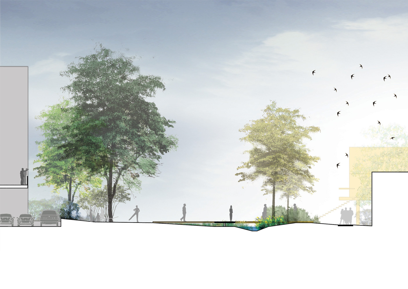 Etude urbaine et de faisabilit sur le secteur des hauts for Jardin veritable