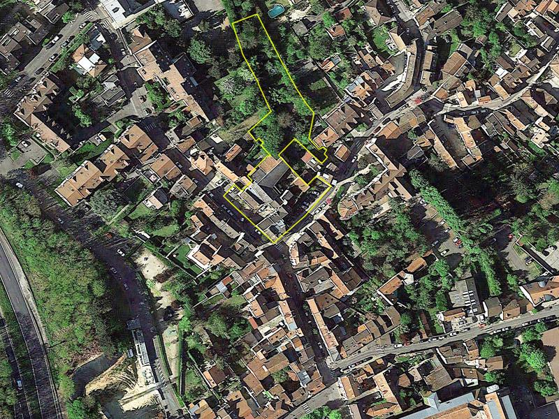 DU_Etude de capacite Igny_photo aérienne localisation du site