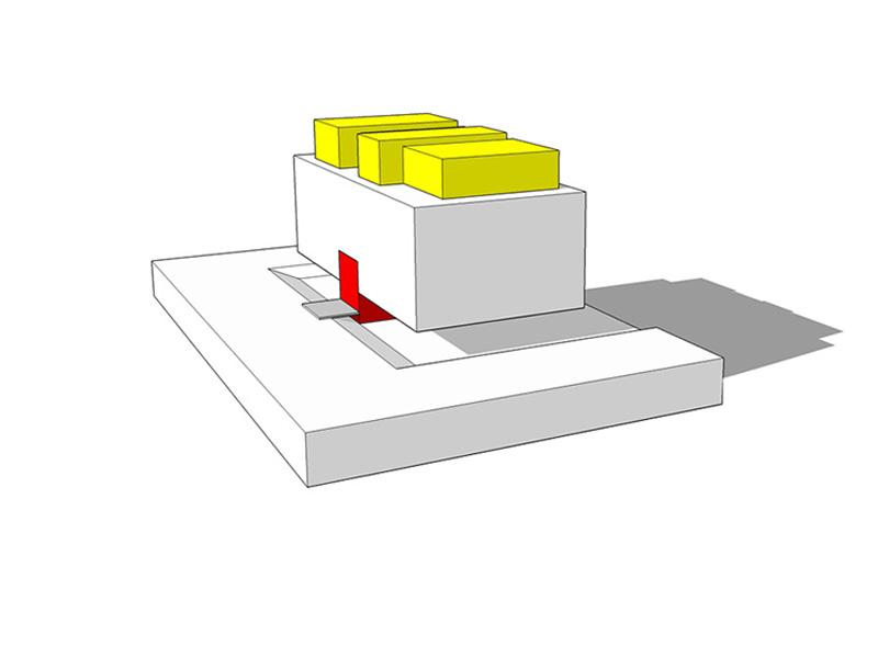 DU_Athis Mons ancien site LU_modelisation 3D immeuble type