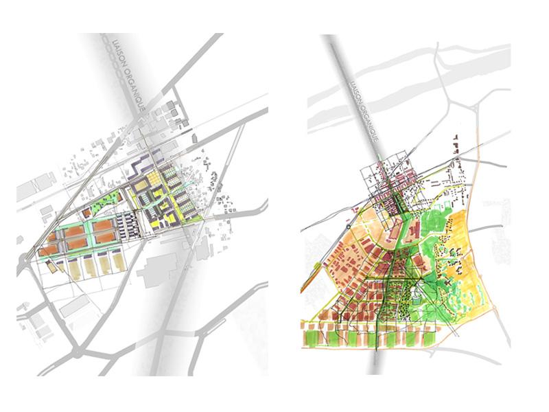 DU_Les Mureaux Etude urbaine_croquis2