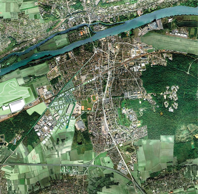 DU_Les Mureaux Etude urbaine_plan masse PAYSAGE