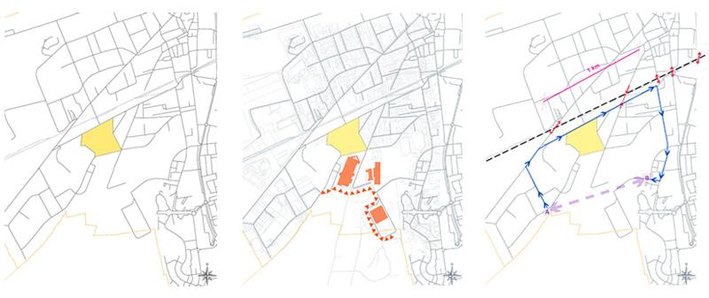 DU_Les Mureaux Etude urbaine_plans diagnostic