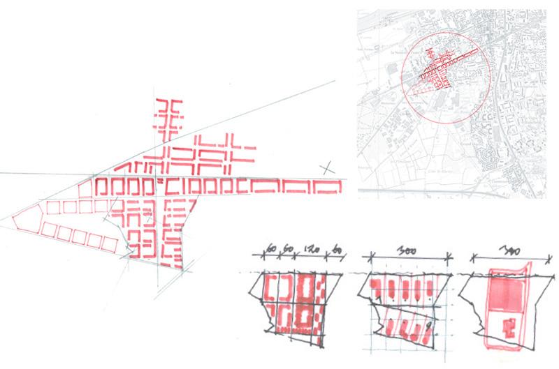 DU_Les Mureaux Etude urbaine_trame et échelle