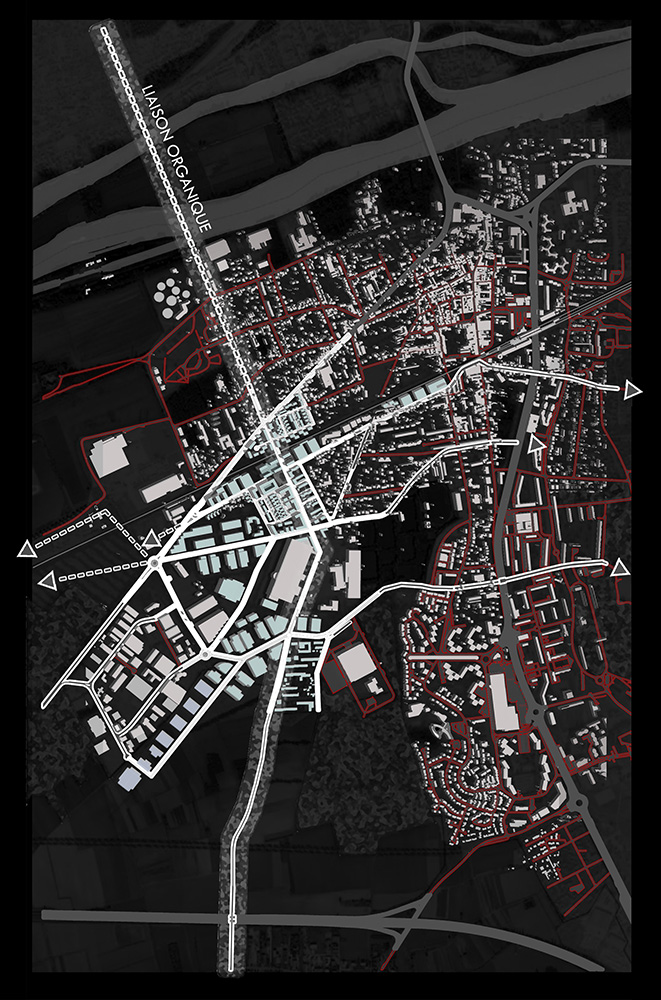 DU_Les Mureaux Etude urbaine_plan masse négatif