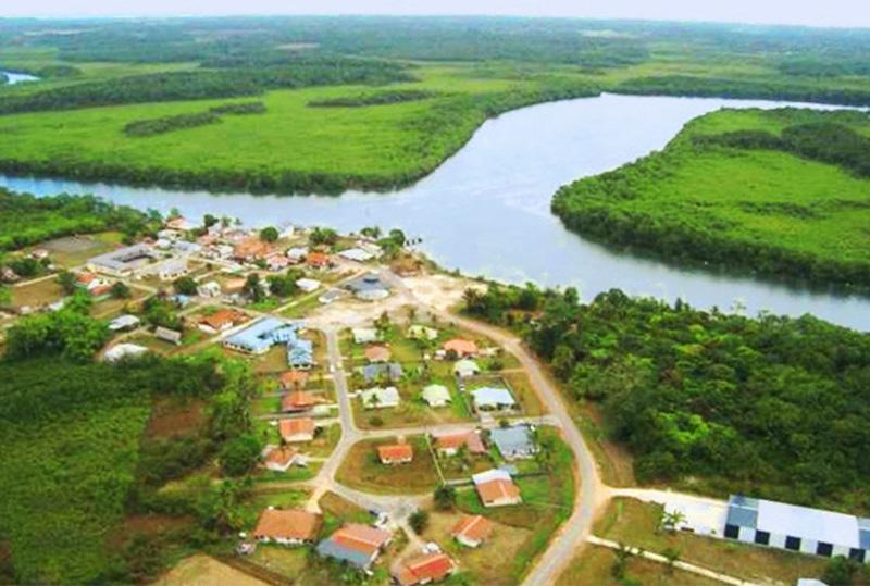 Montsinery Maitrise d'oeuvre urbaine en Guyane_le bourg de montsinery