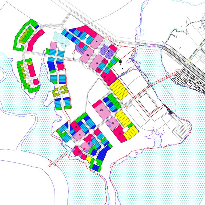 Montsinery Maitrise d'oeuvre urbaine en Guyane_repartition des logements